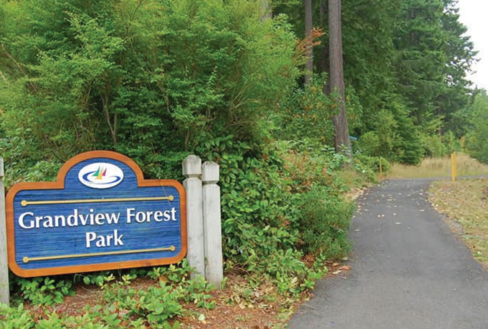 Grandview Forest Park Sign